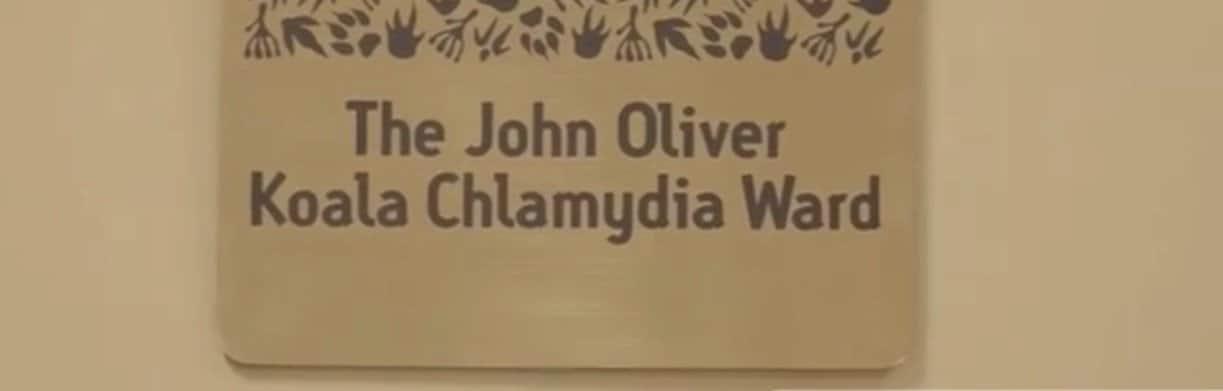 The new plaque at Australia' Zoo's Wildlife Hospital