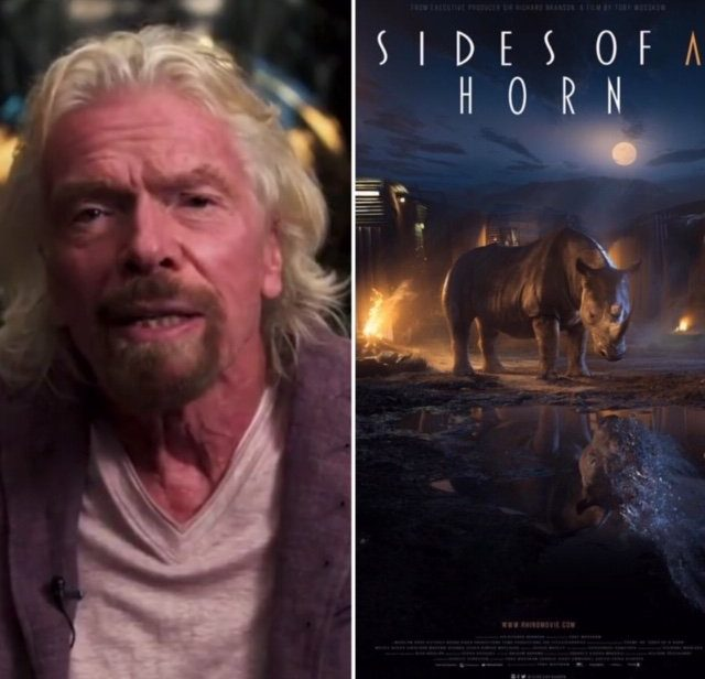 Sides of a Horn, 2019, by Director Toby Wosskow and Executive Producer Richard Branson
