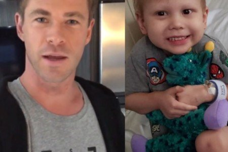 Chris Hemsworth's Special Message for 3-year-old fan Kaleo