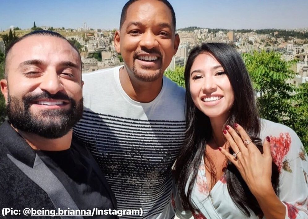 Will Smith helps guy propose to girlfriend
