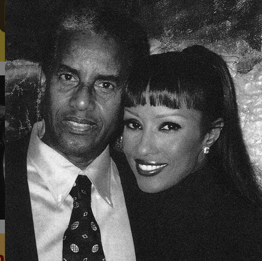 Iman with her father, Mohamed Abdulmajid (Photo: @the_real_iman/Instagram)