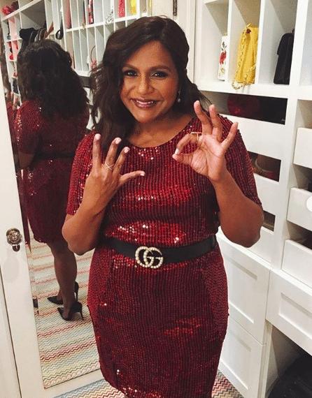 Mindy Kaling celebrates her 40th (Pic: @mindykaling/Instagram)