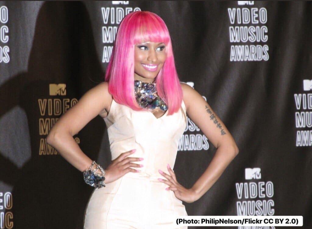 Nicki_Minaj.jpg: Philip Nelsonderivative work: Truu [CC BY-SA 2.0 (https://creativecommons.org/licenses/by-sa/2.0)]
