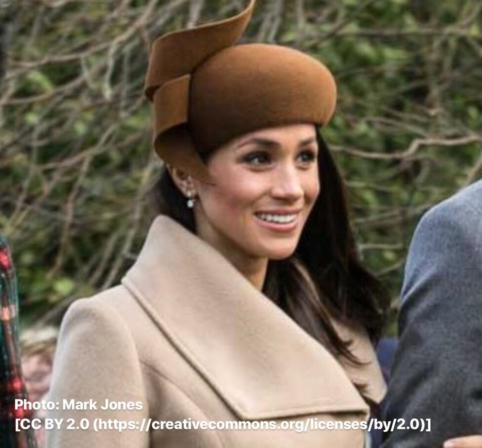 The Duchess of Sussex, Meghan Markle.