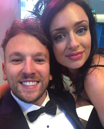 Dylan Alcott and Chantelle Otten at the Logies 2019