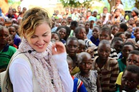 Madonna in Malawi (Photo: @raisingmalawi/Instagram)