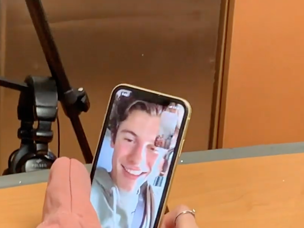 Shawn Mendes surprises a fan in hospital with a FaceTime call