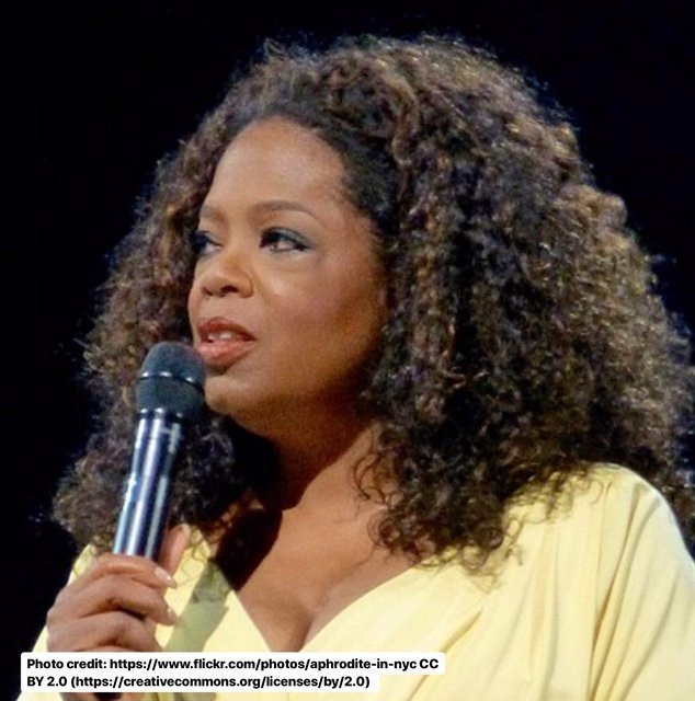 Oprah Winfrey has partnered with New York University to provide more opportunities for African women. Photo: https://www.flickr.com/photos/aphrodite-in-nyc [CC BY 2.0 (https://creativecommons.org/licenses/by/2.0)]