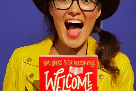 "Yumi Stynes, co-author of pre-teen period guide, ""Welcome to Your Period!"" published by Hardie Grant. (Photo: @yumichild/Instagram)"