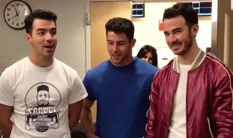 Jonas Brothers make a surprise visit to fan in hospital (Photo: still via @PennStateHershey/Facebook)