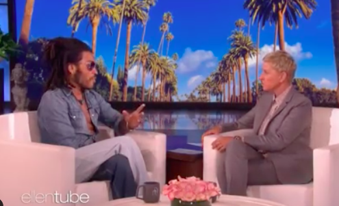 Lenny Kravitz appears on The Ellen Show to discuss how hes helping rebuild the Bahamas