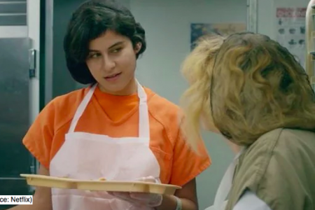 Marie-Lou Nahhas plays Shani Abboud on OITNB. (Photo: Netflix)
