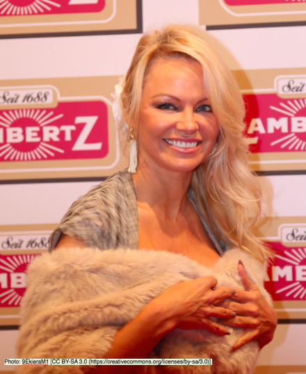 Pamela Anderson is calling for vegan meals in Canadian prisons. Photo: 9EkieraM1 [CC BY-SA 3.0 (https://creativecommons.org/licenses/by-sa/3.0)]