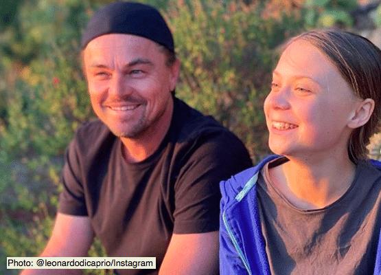 Leonardo DiCaprio meets Greta Thunberg (Photo: @leonardodicaprio/Instagram)