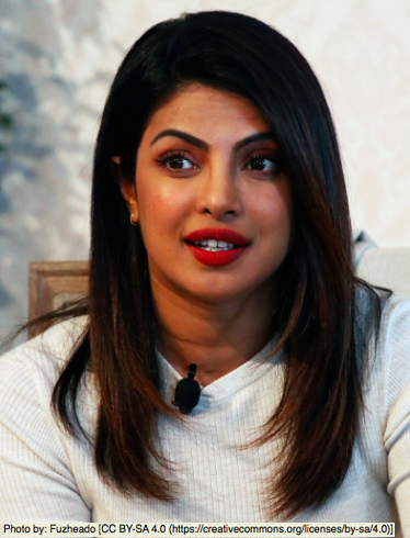 Priyanka Chopra Jonas. Photos by: Fuzheado [CC BY-SA 4.0 (https://creativecommons.org/licenses/by-sa/4.0)]