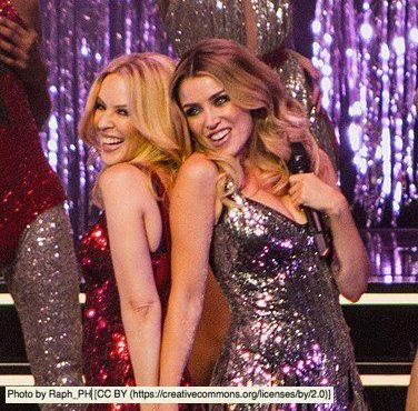 Kylie and Dannii Minogue