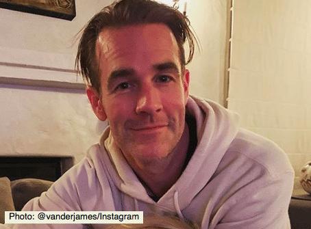 James Van Der Beek puts the spotlight on period poverty (Photo@vanderjames/Instagram)
