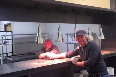 Jon Bon Jovi opens new Soul Kitchen at Rutgers University-Newark (Photo: @jbjsoulkitchen/Instagram)
