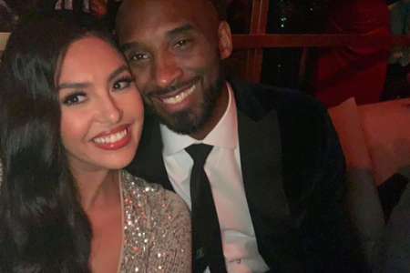 Vanessa Bryant with late husband Kobe Bryant (Photo: @vanessabryant/Instagram)