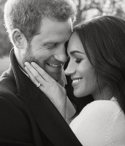 The Duke and Duchess of Sussex, by Alexi Lubomirski