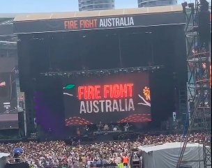 Fire Fight Australia concert 2020