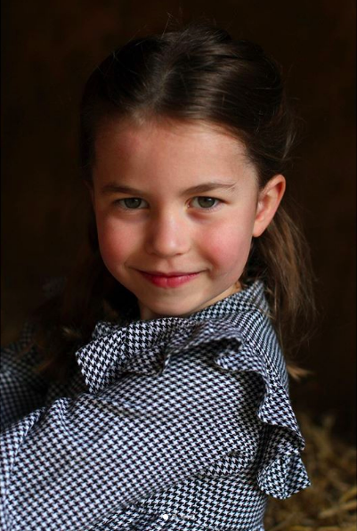 Princess Charlotte ahead of her 5th birthday, taken by The Duchess of Cambridge, Kensington Palace.