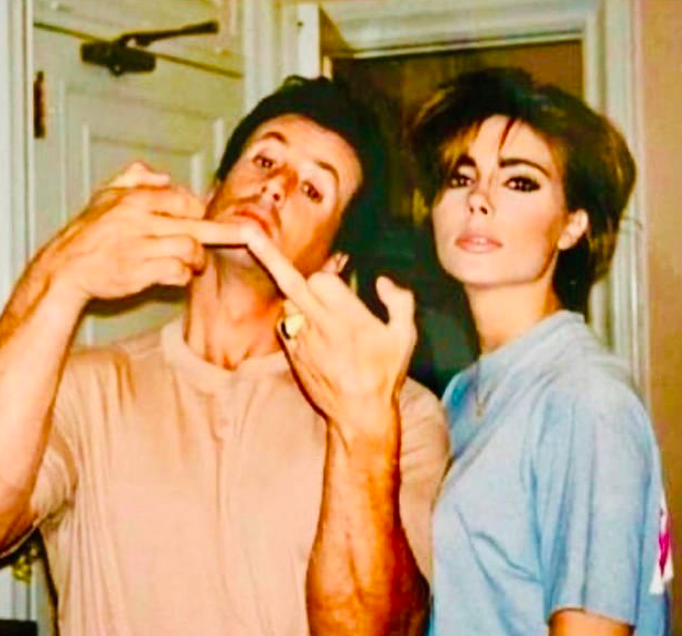 Sylvester Stallone and Jennifer Flavin Stallone. (Photo: @ScarletStallone/Instagram)