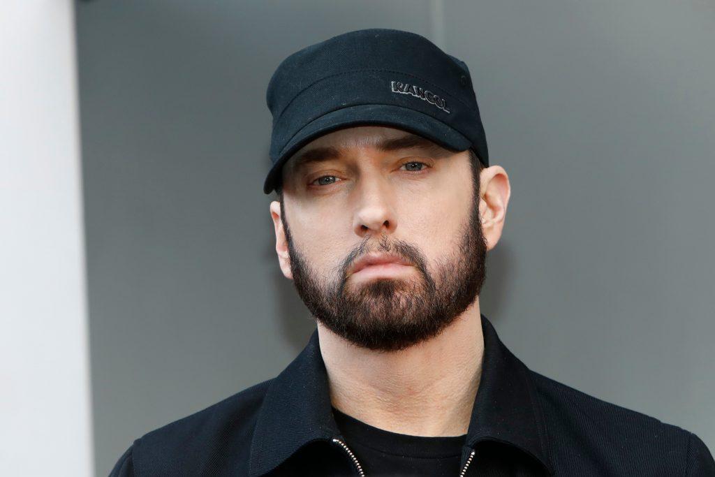 "Eminem donates ""Mom's Spaghetti"" to Detroit health workers. (Photo: Kathy Hutchins/Shutterstock.com)"