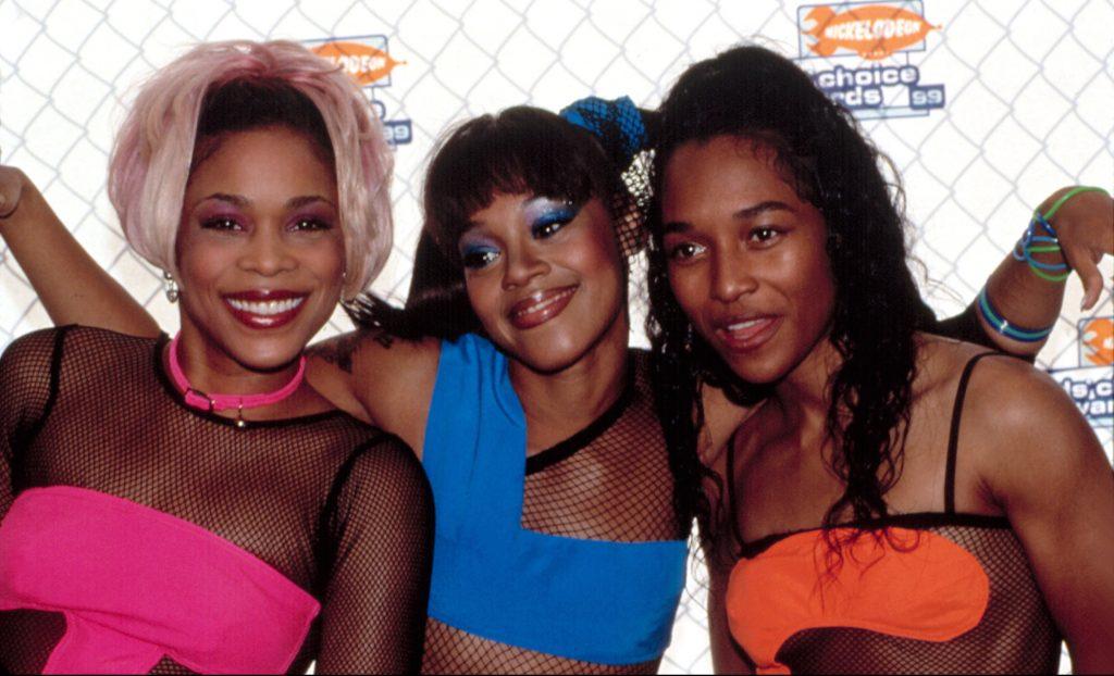 90s group TLC. (Photo: Everett Collection/Shutterstock.com)