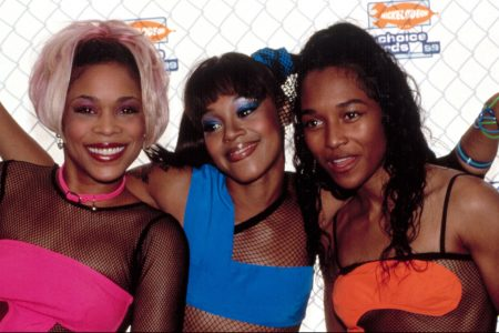 90s group TLC. (Photo: Everett Collection/Shutterstock.com)