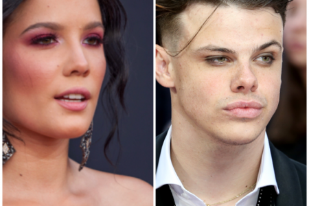 Halsey and Yungblud. Photos: Jamie Lamor Thomson/Shutterstock & Cubankite/Shutterstock