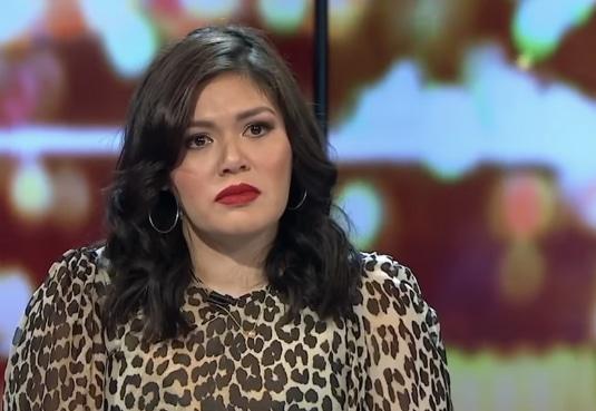 Nakkiah Lui on The Project TV (Photo: Channel 10)