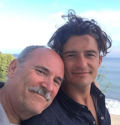 Orlando Bloom and his dad (Photo: @orlandobloom/Instagram)