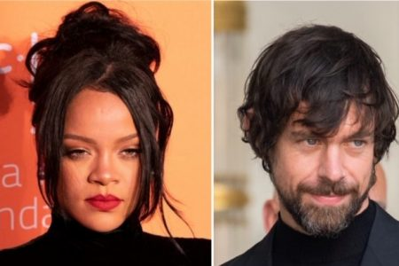 Rihanna (Photo by lev radin/Shutterstock.com); Jack Dorsey (Photo by Frederic Legrand/Shutterstuck.com)