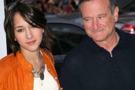 Zelda Williams with the late Robin Williams (Photo: s_bukley/Shutterstock.com)
