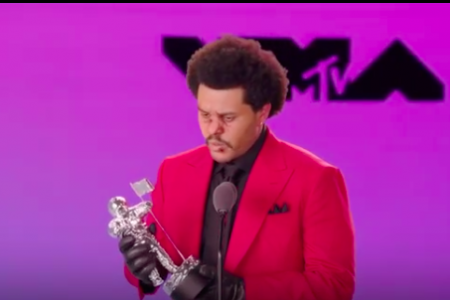 The Weeknd (Photo; MTV VMAs)