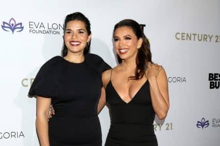 America Ferrera and Eva Longoria Bastón (Photo: Kathy Hutchins/Shutterstock.com)