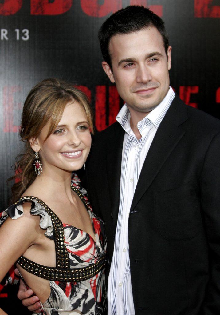 Sarah Michelle Gellar and Freddie Prinze Jr (Photo: TInseltown/Shutterstock.com)