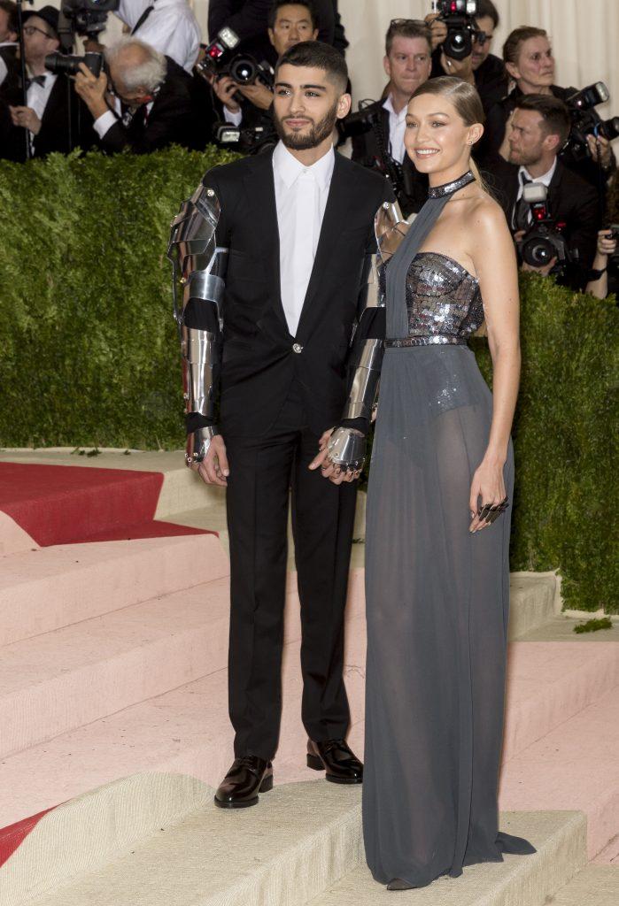 Zayn Malik and Gigi Hadid (Photo: Ovidiu Hrubaru/Shutterstock.com)