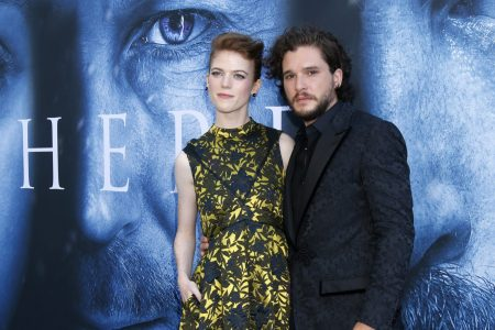 Rose Leslie and Kit Harrington (Photo: Kathy Hutchins/Shutterstock.com)