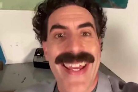 Borat's message for Kim Kardashian
