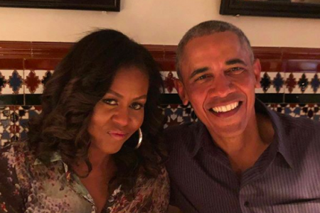 Michelle and Barack Obama (Photo: @michelleobama/Instagram)