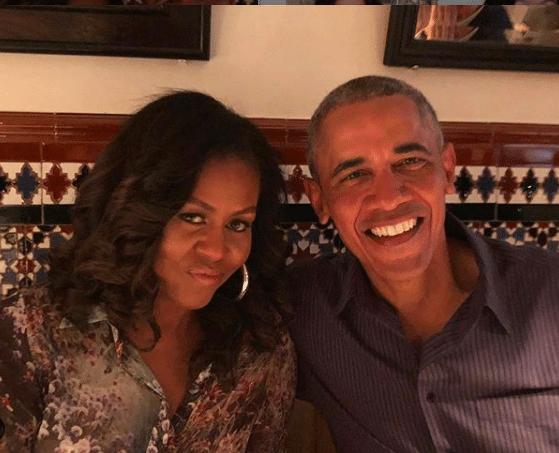 Michelle and Barack Obama (Photo: @michelleobama/Instagram)